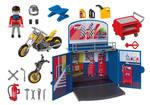375: Playmobil Motorcycle workshop