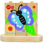 413: Lifecycle Butterfly stacking puzzle