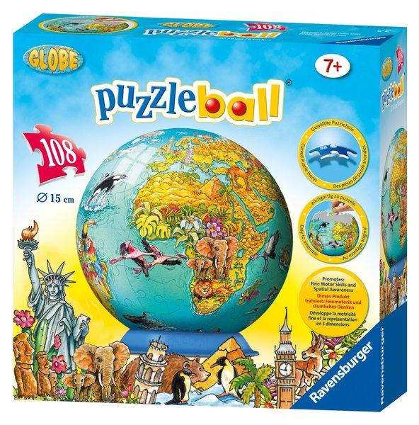 TS10-023: Puzzleball - Globe