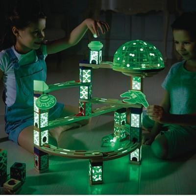 TS3-022: Quadrilla Space City - Glow in the Dark
