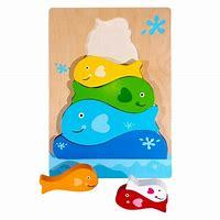 TS10-026: Fish Stacker Puzzle - Wooden