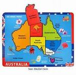 TS10-013: Raised Wooden Puzzle Australia
