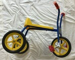 B2: Yellow and Blue Tricycle