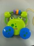 B013: Growing Baby Pull Along Froggie