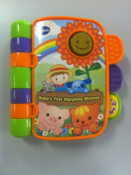 B020: Baby's First Storytime Rhymes Book