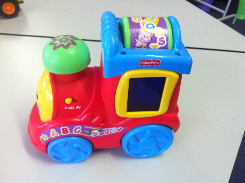 B022: Fisher-Price Laugh & Learn Express Train