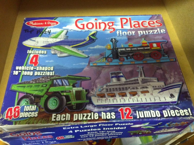 P024: Going Places Floor Puzzle