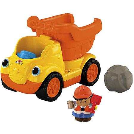 A042: Little People Rumblin Rocks Dump Truck
