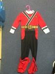 E035: Red Power Rangers Costume