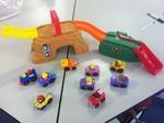 B027: Fisher Price Little People Car Ramp