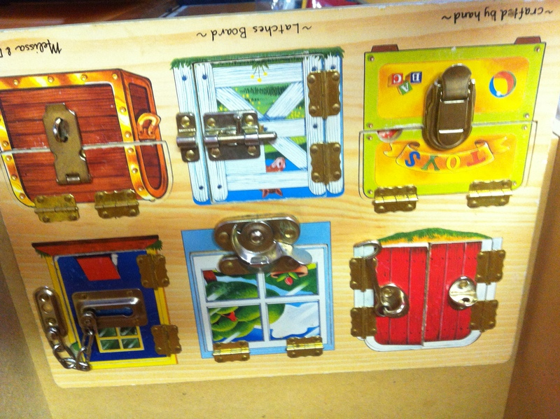 P034: Melissa and Doug Latches Board