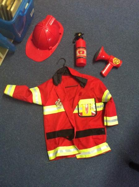 F057: Costume Childrens - Fire Chief