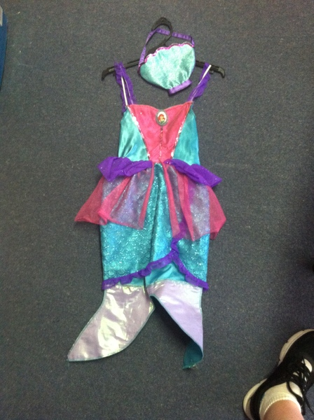 A087: Arial Mermaid Outfit