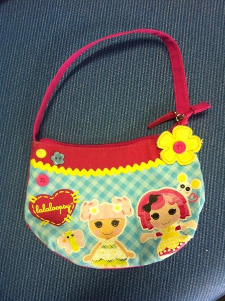 F062: Lalaloopsy Pink & Blue Bag