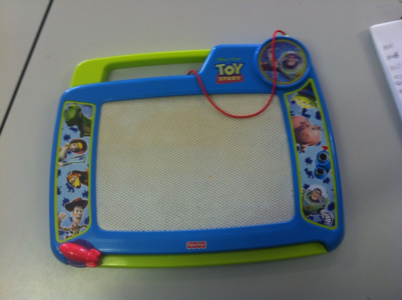 A092: Toy Story Sketch Pad