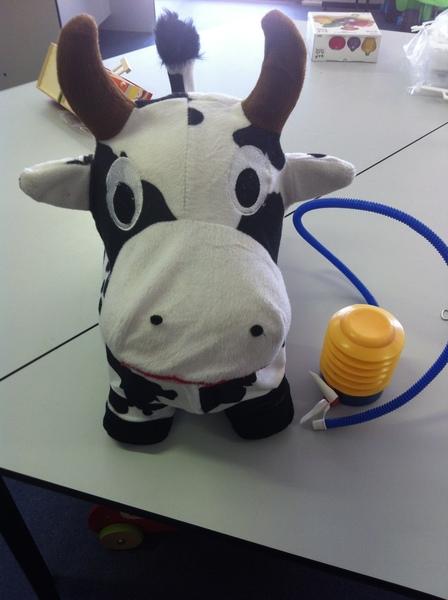 R016: Cow (Blow up) & Pump