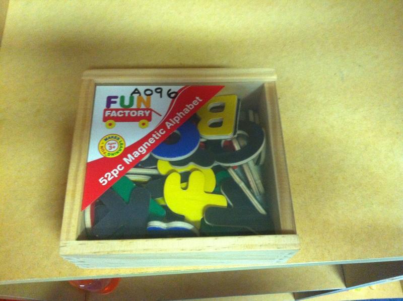 A096: Fun Factory Magnetic Alphabet