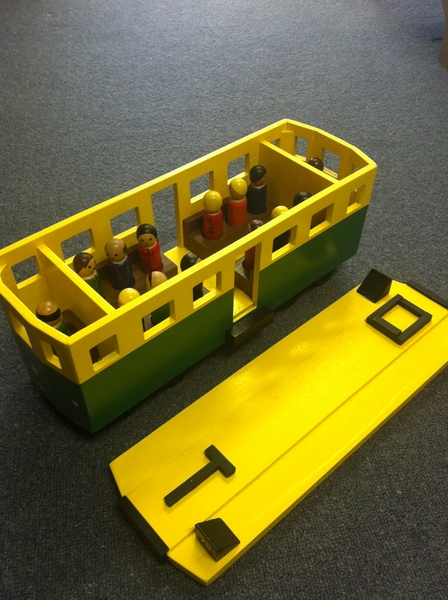 A097: Iconic Tram Toy