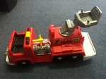A103: fisher price fire truck