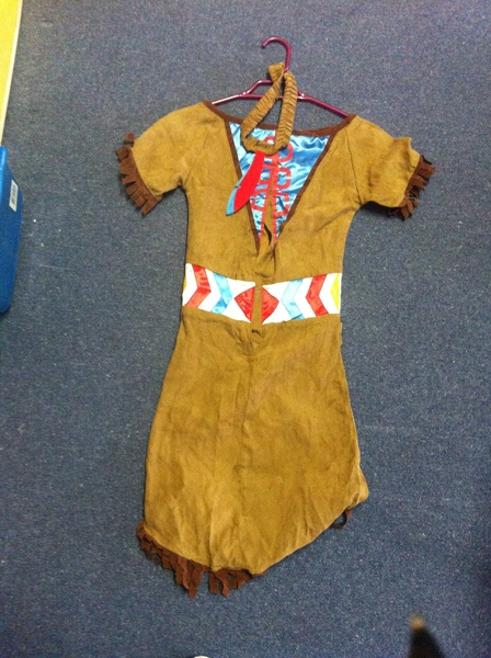 E005: Native American Indian Costume