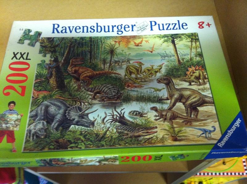 P040: Dinosaur Puzzle