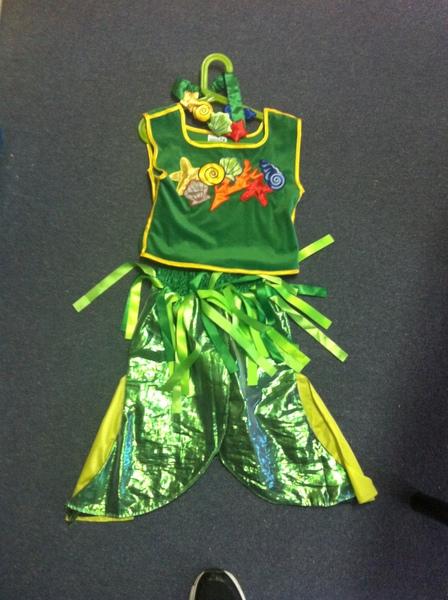 E007: Mermaid Costume