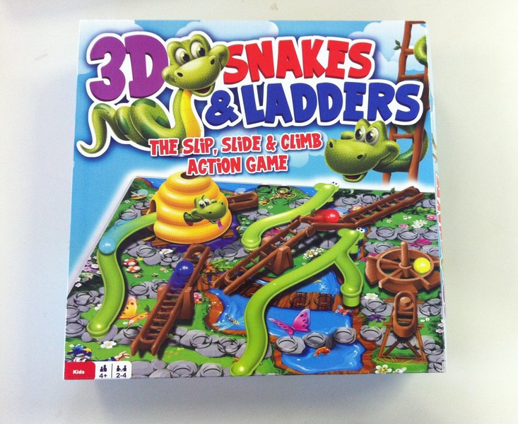 G008: 3D Snakes and Ladders