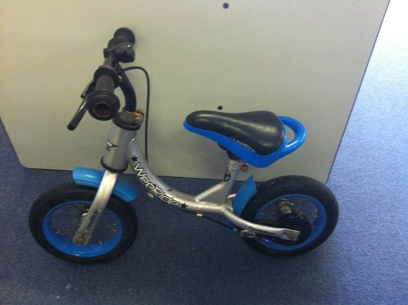 R019: Blue Balance Bike
