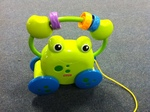 A114: Fisher Price Pull Along Frog