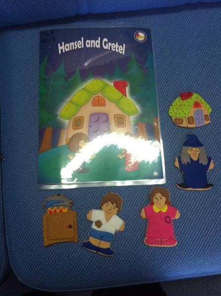 E017: Hansel and Gretel Finger Puppets
