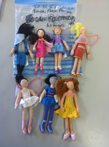 E025: Rainbow Magic Fairies