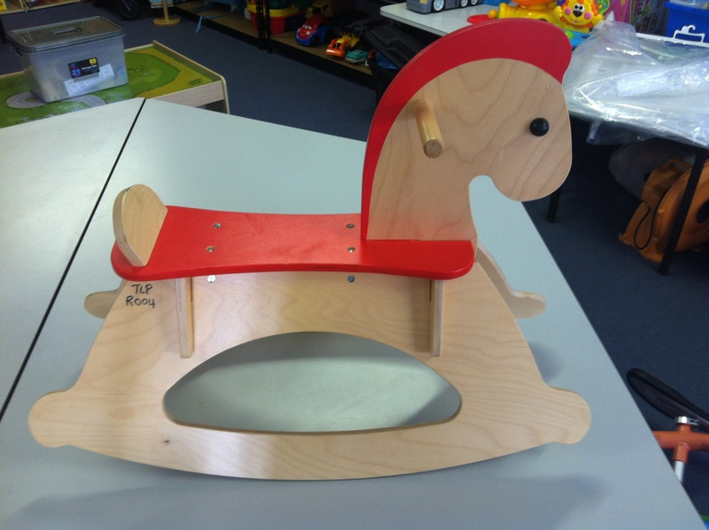 R004: Rock and Ride Rocking Horse