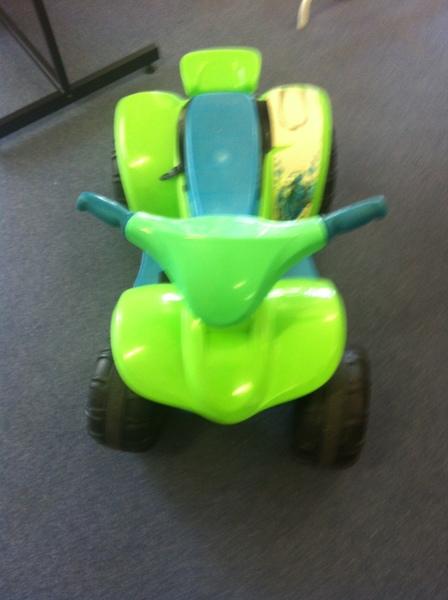 R011: Buzz Lightyear Electric Quad Bike