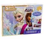 83024: Frozen 5 in 1 Puzzle