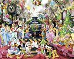 83054: Disney Christmas Train Puzzle