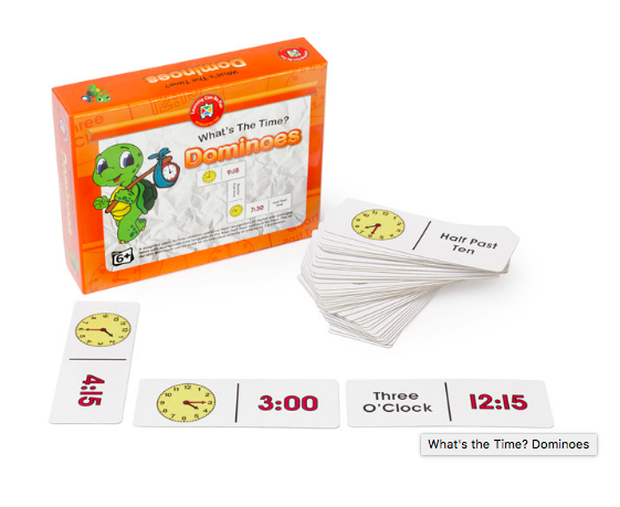 83056: What's the time? Dominoes