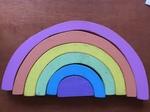 82024: Wooden Montessori Rainbow
