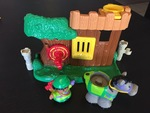 62098: Little People Treehouse and Woodsman