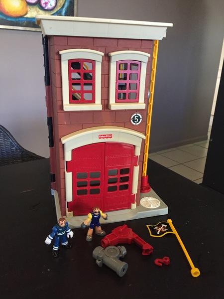 62100: Fire station PLUS BAG