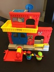 62156: Little People Fire Station (plus bag)