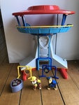 60005: Paw Patrol Lookout Tower Playset plus bag (GOLD STAR)