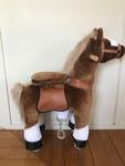 70105: Pony Cycle Brown Pony GOLD STAR plus bag