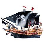62263: Playmobil Pirate Raiders Ship GOLD STAR plus bag