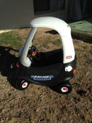 70307: Police Cozy Coupe GOLD STAR