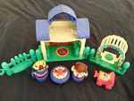 62309: Little People Play House with Swing