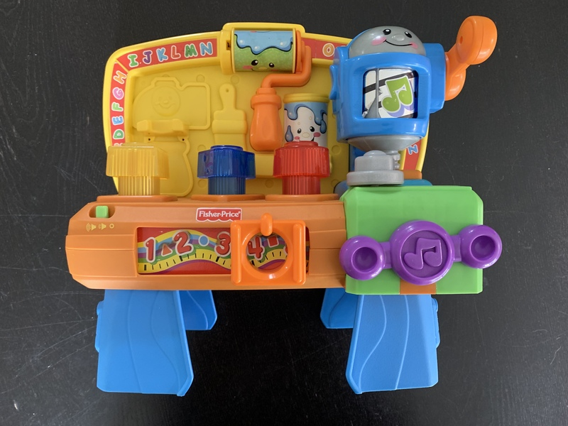 80071: Fisher Price Laugh & Learn Workbench