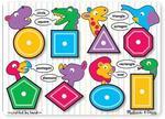 83150: Shapes Peg Puzzle