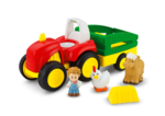 80253: Little people tractor + accessories box