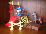 1733: Mike the Knight Training Ground Set