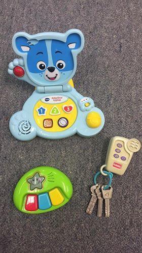 1853: Infant Noisey Toys